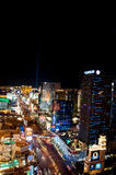 Λας Βέγκας τη νύχτα Στοκ φωτογραφία με δικαίωμα ελεύθερης χρήσης