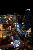Λας Βέγκας τη νύχτα στοκ φωτογραφία