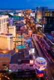 Λας Βέγκας τη νύχτα στοκ εικόνα με δικαίωμα ελεύθερης χρήσης