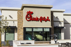 Λας Βέγκας - το Δεκέμβριο του 2016 Circa: Μια νεοσσός-fil-λιανική θέση γρήγορου φαγητού Νεοσσός-fil-τα εστιατόρια είναι κλειστά τ στοκ φωτογραφία