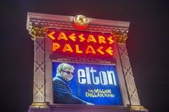 Λας Βέγκας, Elton John Στοκ Εικόνες