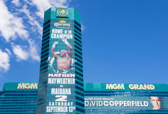 Λας Βέγκας, MGM Στοκ φωτογραφίες με δικαίωμα ελεύθερης χρήσης
