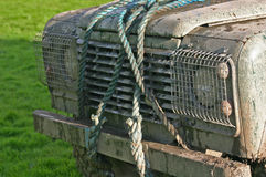 Λασπώδες 4x4 Στοκ φωτογραφία με δικαίωμα ελεύθερης χρήσης