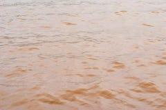 Λασπώδη κύματα νερού Panshet στοκ εικόνες με δικαίωμα ελεύθερης χρήσης