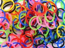 Λαστιχένια ζώνη χρώματος Στοκ Εικόνες