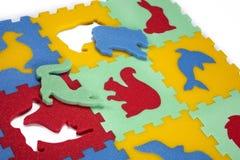 Λαστιχένια παιχνίδια αφρού Στοκ φωτογραφίες με δικαίωμα ελεύθερης χρήσης