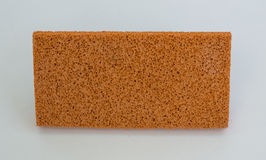 Λαστιχένιο σφουγγάρι για να θολώσει το ασβεστοκονίαμα στοκ φωτογραφία με δικαίωμα ελεύθερης χρήσης