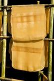 Λαστιχένιο φύλλο. Στοκ Εικόνες