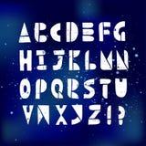 Λατινικά επιστολές και σύμβολα που το αλφάβητο Στοκ φωτογραφίες με δικαίωμα ελεύθερης χρήσης