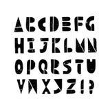 Λατινικά επιστολές και σύμβολα που το αλφάβητο Στοκ Εικόνες