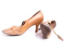 Λατινικά παπούτσια χορού αιθουσών χορού Στοκ φωτογραφίες με δικαίωμα ελεύθερης χρήσης