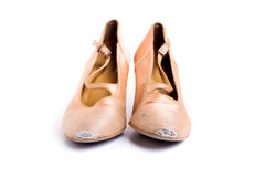 Λατινικά παπούτσια χορού αιθουσών χορού Στοκ Εικόνα