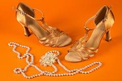 Λατινικά παπούτσια χορού Στοκ Εικόνες