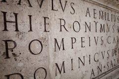 λατινικά Στοκ Φωτογραφία