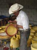 Λατινικά artisans στις οδούς της Πόλης του Μεξικού Στοκ Εικόνες