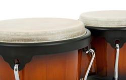 λατινική κρούση οργάνων bongos Στοκ Εικόνες