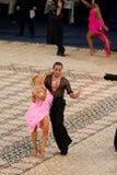 Λατινικός ανταγωνισμός - κύριοι 2012 χορού Στοκ φωτογραφίες με δικαίωμα ελεύθερης χρήσης