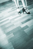 Λατινικός χορευτής χορού αιθουσών χορού Στοκ εικόνα με δικαίωμα ελεύθερης χρήσης