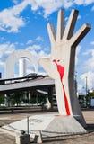 λατινικό αναμνηστικό Paulo Σάο της Αμερικής Βραζιλία Στοκ εικόνα με δικαίωμα ελεύθερης χρήσης