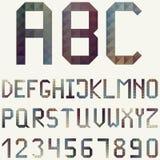 Λατινικό αλφάβητο διανυσματική απεικόνιση