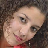 Λατινικό κορίτσι κινηματογραφήσεων σε πρώτο πλάνο Στοκ εικόνες με δικαίωμα ελεύθερης χρήσης