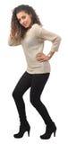 Λατινικό κορίτσι που ντύνεται επάνω Στοκ φωτογραφία με δικαίωμα ελεύθερης χρήσης
