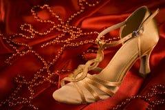 Λατινικό παπούτσι χορού Στοκ Εικόνες