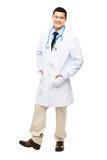 Λατινοαμερικάνικο χαμόγελο γιατρών στοκ φωτογραφία