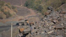 Λατομείο, να εξαγάγει του σιδηρομεταλλεύματος Ο ερχομός belaz επικεντρώνει εκ νέου στο μετάλλευμα πρώτου πλάνου απόθεμα βίντεο