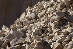 Λατομείο πετρών Sillar σε Arequipa Περού Στοκ φωτογραφία με δικαίωμα ελεύθερης χρήσης