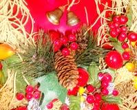 λατρευτές λεπτομέρειες Χριστουγέννων στοκ εικόνα