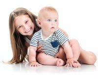 Λατρευτές μικρές αδελφές Στοκ Εικόνες