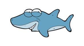 Λατρευτοί καρχαρίες κινούμενων σχεδίων Στοκ εικόνα με δικαίωμα ελεύθερης χρήσης