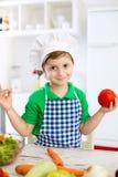 Λατρευτός λίγος αρχιμάγειρας παιδιών Στοκ φωτογραφία με δικαίωμα ελεύθερης χρήσης