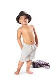 Λατρευτός λίγο ασιατικό αγόρι Στοκ φωτογραφίες με δικαίωμα ελεύθερης χρήσης