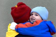 λατρευτός γιος οικογενειακών πατέρων Στοκ φωτογραφία με δικαίωμα ελεύθερης χρήσης