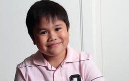 λατρευτό ασιατικό χαμόγε Στοκ εικόνα με δικαίωμα ελεύθερης χρήσης