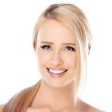 Λατρευτό κορίτσι με το όμορφο χαμόγελο Στοκ εικόνα με δικαίωμα ελεύθερης χρήσης