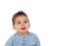 Λατρευτό μωρό εννέα μήνες Στοκ εικόνες με δικαίωμα ελεύθερης χρήσης