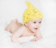 Λατρευτό νεογέννητο μωρό Στοκ φωτογραφία με δικαίωμα ελεύθερης χρήσης