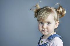 λατρευτό πορτρέτο παιδιών Στοκ εικόνες με δικαίωμα ελεύθερης χρήσης