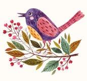 Λατρευτό πουλί Στοκ Εικόνες