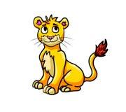Λατρευτό Cub λιονταριών ελεύθερη απεικόνιση δικαιώματος