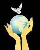 λατρεψτε την ειρήνη Στοκ φωτογραφία με δικαίωμα ελεύθερης χρήσης