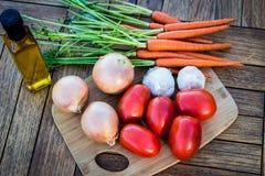 Λαχανικά έτοιμο για χρήση Στοκ εικόνες με δικαίωμα ελεύθερης χρήσης