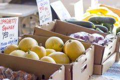 Λαχανικά αγοράς αγροτών Στοκ Φωτογραφίες