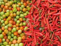 λαχανικά αγοράς νωπών καρπών Στοκ Φωτογραφίες