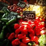 Λαχανικά αγοράς της Χιλής Στοκ εικόνα με δικαίωμα ελεύθερης χρήσης