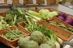 λαχανικά αγοράς s αγροτών Στοκ Εικόνα