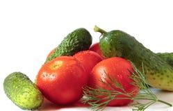 λαχανικά αφθονίας Στοκ Φωτογραφίες